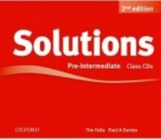 Solutions 2ED Pre-intermediate Class Audio CDs