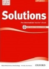 Solutions 2ED Pre-intermediate Teacher's Book