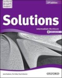 Solutions 2ED Intermediate Workbook and Audio CD Pack