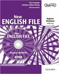 New English File Beginner Workbook + Multi-ROM