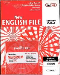 New English File Elementary Workbook + Multi-ROM