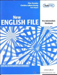 New English File Pre-intermediate Workbook + Multi-ROM