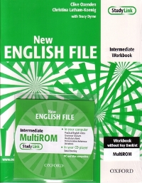 New English File Intermediate Workbook + Multi-ROM
