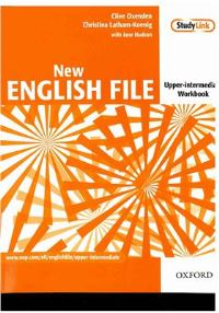 New English File Upper-intermediate Workbook + Multi-ROM