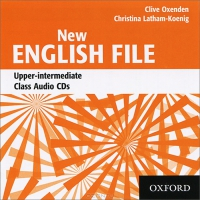 New English File Upper-intermediate Class Audio CDs