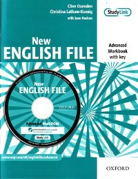 New English File Advanced Workbook + Multi-ROM