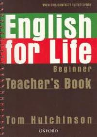 English For Life Beginner Teacher's Book