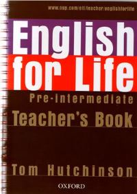 English For Life Pre-intermediate Teacher's Book