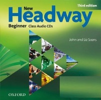 New Headway 3ED Beginner Class Audio CDs
