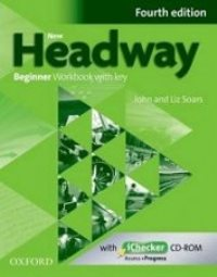 New Headway 4ED Beginner Workbook + ICHECKER PACK with key