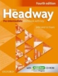 New Headway 4ED Pre-intermediate Workbook + ICHECKER PACK