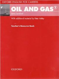 Oil and Gas 1 Teacher's Book