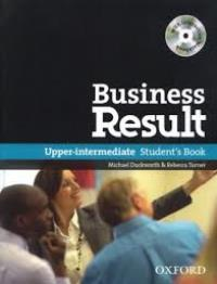 Business Result Upper-intermediate Student's Book with DVD-ROM
