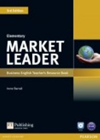 Market Leader 3ED Elementary Teacher's Book with CD-ROM