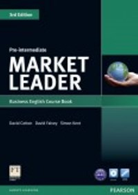 Market Leader 3ED Pre-intermediate Student's Book with DVD-ROM