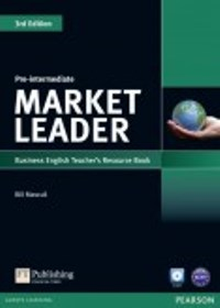 Market Leader 3ED Pre-intermediate Teacher's Book with CD-ROM