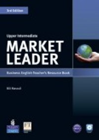 Market Leader 3ED Upper-intermediate Teacher's Book with CD-ROM