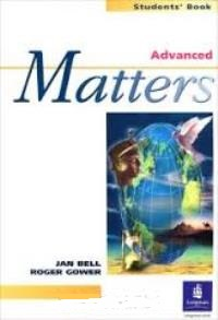 Matters Advanced Student's Book