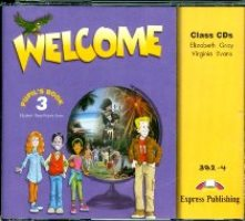 Welcome 3 Class CDs
