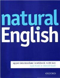Natural English Upper-intermediate Workbook