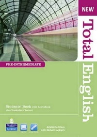 New Total English Pre-intermediate Student's Book + DVD