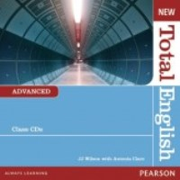 New Total English Advanced Class CDs