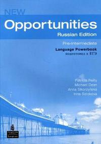 New Opportunities Pre-intermediate Language Powerbook