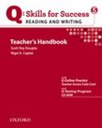 Q SKILLS FOR SUCCESS Reading and Writing 5 Teacher's Handbook