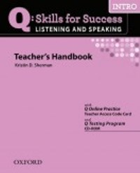 Q SKILLS FOR SUCCESS Listening and Speaking Intro Teacher's Handbook