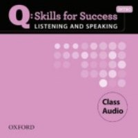 Q SKILLS FOR SUCCESS Listening and Speaking Intro Class CDs
