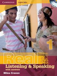 Real Listening and Speaking 1 Student's Book with answers + CDs