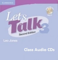 Let's Talk 3 Class Audio CDs