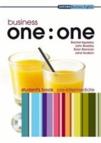 Business ONE:ONE Pre-intermediate Student's Book