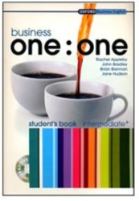 Business ONE:ONE Intermediate Student's Book + Teacher's Book + аудиодиски
