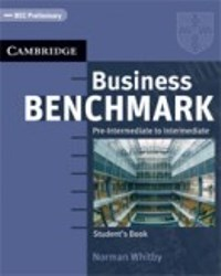 Business Benchmark Pre-intermediate Student's Book